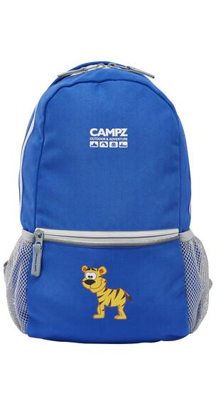 CAMPZ Tiger 10L - Sac à dos Enfant - bleu
